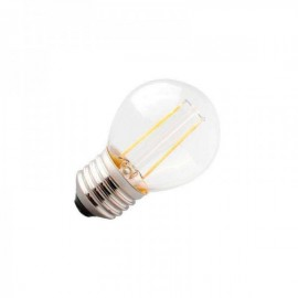 Lâmpada LED E27 COB Filamento 2W Branco Quente 2700K - 8428350640554
