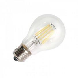 Lâmpada LED E27 COB Filamento 6W Branco Quente - 8428350636120