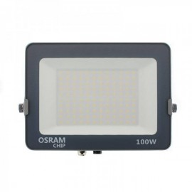 Projetor LED Chip LED OSRAM Pro 100W Branco Quente - 8435568904828