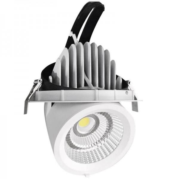 Downlight LED PRICKLUX TUBE 38W Branco Quente - 8428350615675