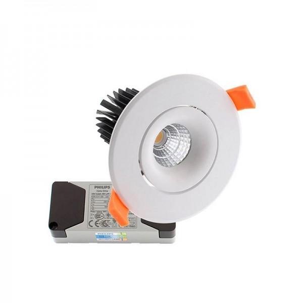 Downlight LED LUXON CREE 9W Branco Quente Regulável - 8428350660248