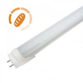 Tubo LED T8 9W 60cm ideal para Padaria e Pastelaria Branco Quente 2700K - 8428350633228