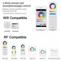 Painel LED 40W FUT045A RGB + CCT RF 60x60 cm RGB + Branco Dual Regulável - 8435568911413