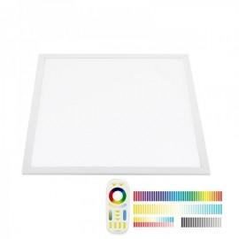 Painel LED 48W RGB + Branco DUAL RF 60x60 cm RGB + Branco Dual Regulável - 8428350645153