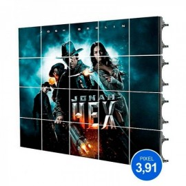 Rótulo LED Modular Pixel 3.91 RGB 5m2 20 Módulos + Control - 8428350666578