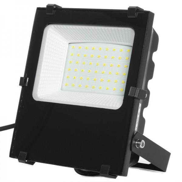 Projetor LED SMD 10W 130 lm/W IP65 50000H Ajustável Branco Frio - 1916-NS-HVFL10W-F-CW - 8445152089176