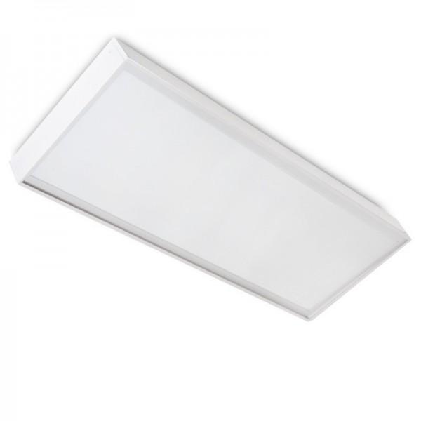 Painel LED Slim 120x30cm 40W 3800lm + Kit de Superficie Branco Frio - HO-KITPAN120X30-40W-CW - 8445152089305