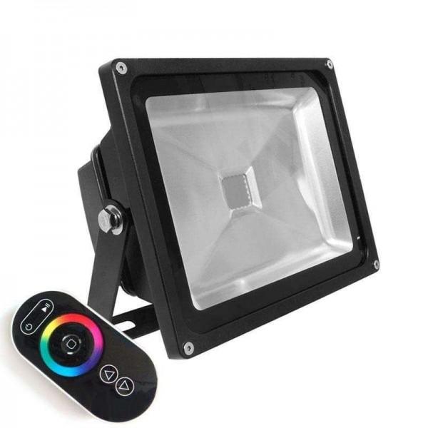 Projector LED de Exterior MicroLED 30W RGB-RF RGB - 8428350634461